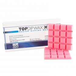 Top Dip Medium dipping Pink Wax 100 gr DS Dental Lab Material