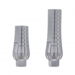 Straight abutment standard platform,  internal hex implants, Compatible with: Adin, MIS, AB, AlphaBio and more