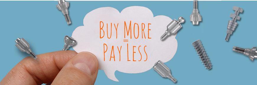 Buy more=Pay less